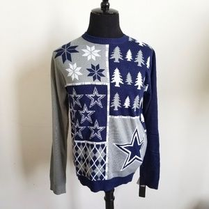 NWT NFL Dallas Cowboys Ugly Christmas Sweater